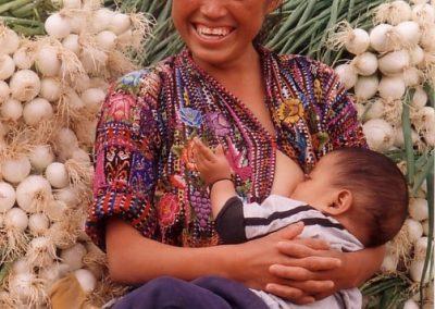 Estela and baby, Concepción