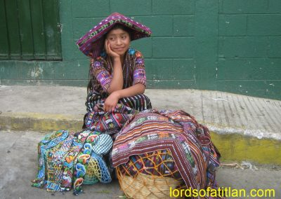 Girl from Peña Blanca, Sololá