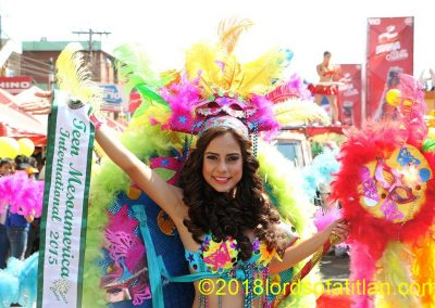 The celebration for Carnaval Mazateco, Fat Tuesday in Mazatenango is imitation Rio do Janeiro, but it´s a good imitation.