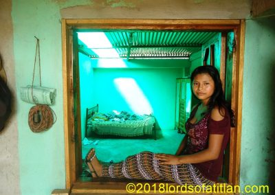 My favorite photo, and besides, it can never be taken again. A new house covers the window. San Pablo Jocopilas