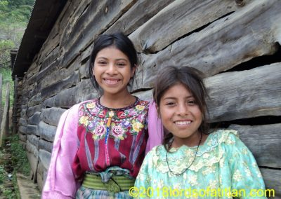 This is Blanca as a child in Mocolic Xot Alto,Patzun. However, she is now married in Patzicia.
