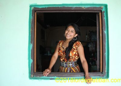 Girl in window, San Pedro la Laguna