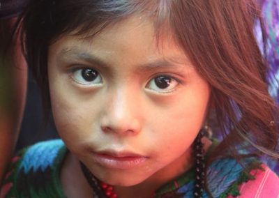 Girl from Patuya, Tzununá, Santa Cruz la Laguna