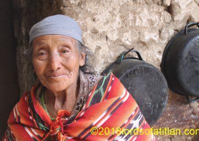 She lives in Patachaj, San Cristóbal Totónicapán