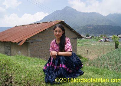 Geidi is from El Llano del Pinal, Quetzaltenanago.