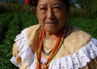 This woman is from San Luís Jilotepeque Jalapa but in San Mateo, Quetzaltenango.