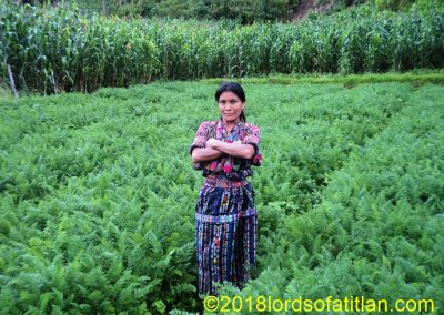 This woman from Aldea Pixabaj, Sololá is not well known, still she is outstanding in her field.                                                Pixabaj, Sololá