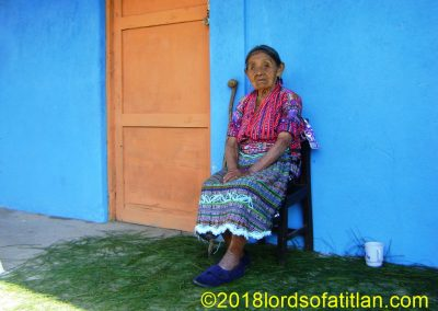 Woman from San Jorge la Laguna, Sololá, who, however, has now passed on.