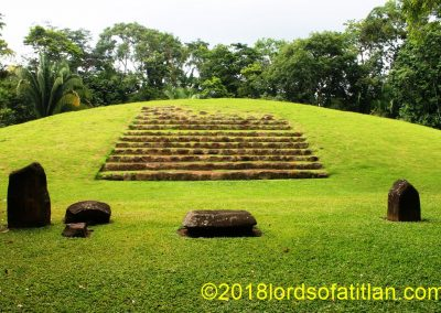Although lacking the monumental grandeur of Tikal, this archaeological site, Takalik Abaj, may have been the birthplace of the Maya culture. El Asintal, Reu