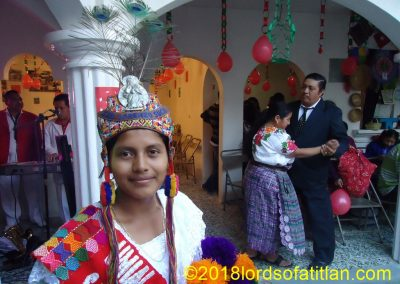 Brenda is a former queen of San Lorenzo Suchitepéquez, and therefore speaks k'iche'.