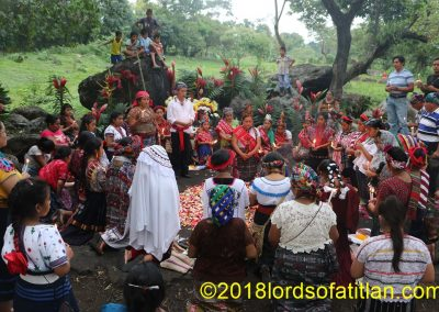 This Maya ceremony opens the festivities for an election at the national level, and therefore queens from all over Guatemala come to participate.