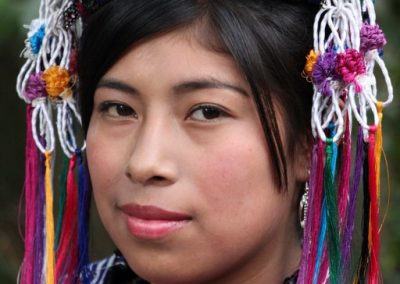 This indigenous queen is from Parramos, Chimaltenango and is therefore is a kaqchiquel speaker.