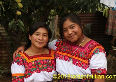 These queens are from communities of San Cristóbal Totónicapán and therefore speak k'iche'.