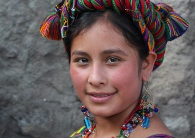 Maribel was Daughter of the Town in Nebaj and so speaks ixil. However, she was also from Aldea Pulay where the residents speak both ixil and k'iche'. She therefore speaks both Maya idioms in addition to Spanish.